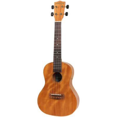 Diamond Head DU-200C deluxe natural mahogany concert ukulele for sale