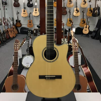 Applause Standard Nylon Acoustic Electric Natural Spruce for sale