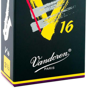 Vandoren SR7035 V16 Alto Saxophone Reeds - Strength 3.5 (Box of 10)
