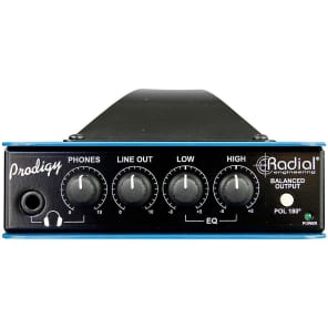 Radial Prodigy V8 Headload Prodigy Load-Box with Speaker Simulator NEW! Free 2-Day Delivery!