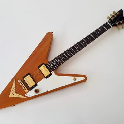 Gibson Reverse Flying V Guitar of the Week #29 2007 Trans Amber for sale