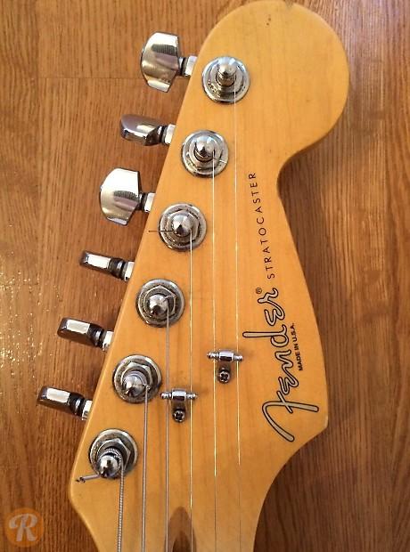 Fender American Standard Stratocaster 1999 Inca Silver