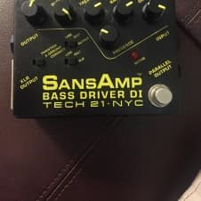 Tech 21 Sans Amp bass Driver D.I.