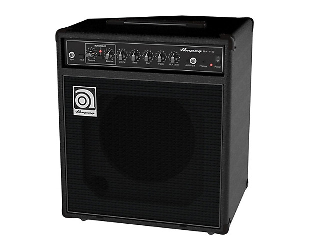 ampeg ba 110v2 40w 10 bass combo amplifier used reverb. Black Bedroom Furniture Sets. Home Design Ideas
