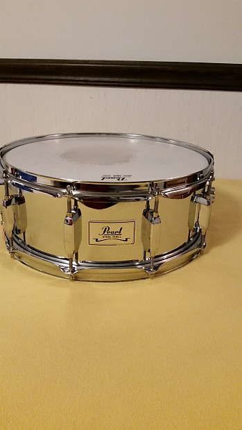 pearl chrome over steel 10 lug snare drum reverb. Black Bedroom Furniture Sets. Home Design Ideas