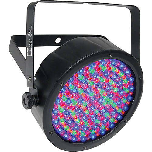 CHAUVET DJ EZpar 64 RGBA Battery-Powered LED PAR (Black