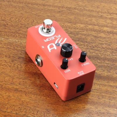 FLEOR Mini Guitar Effect Pedal Boost Plus Micro Effects True Bypass, Booster
