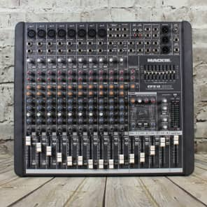 Mackie CFX12 MKII 12-Channel Compact Integrated Live Sound Reinforcement Mixer