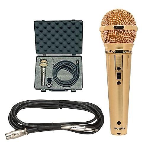 VocoPro MK-58 PRO Vocal Microphone Gold