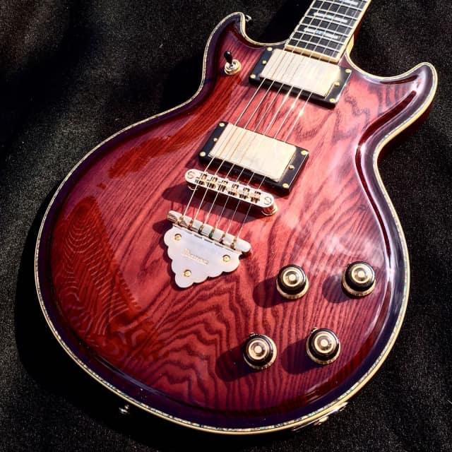 Ibanez AR720 BSQ Bursted Smokey Quartz Electric Guitar w/Gold Hardware Abalone Inlays & Hard Case image
