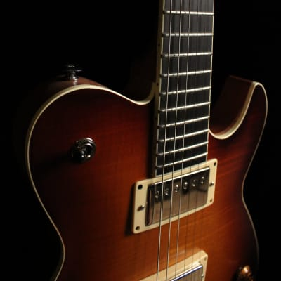 Raines Raines LPT USA Prototype Carved Top Singlecut Guitar 2016 Iced Tea Burst for sale