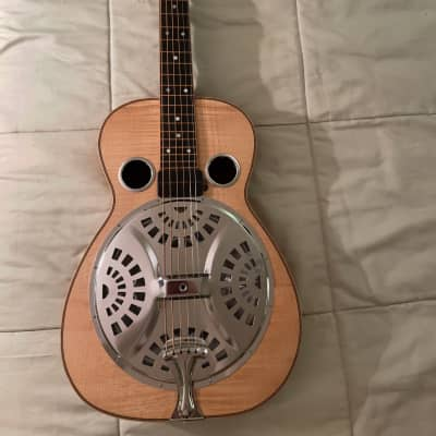 R.J. Deneve Handcrafted Square Neck Resonator. #158. Barcus-Berry Pickup. New Grover Tuners. for sale