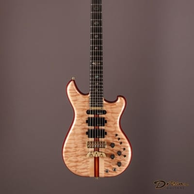 2011 Alembic Further, Purpleheart/Quilted Maple for sale