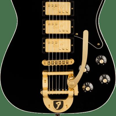 Fender Parallel Universe Volume II Troublemaker Tele Custom Bigsby-Black for sale