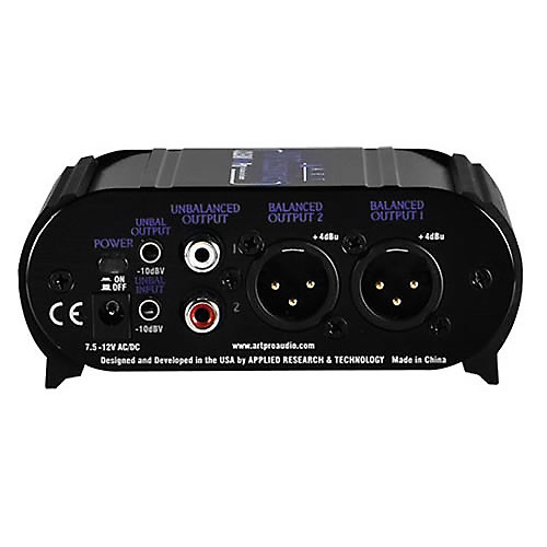 Art Line Level Converter : Art two channel pro converter xlr rca and quot i o w