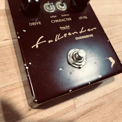 Jersey Girl Fulltender overdrive very rare Boutique pedal handmade in Japan for sale