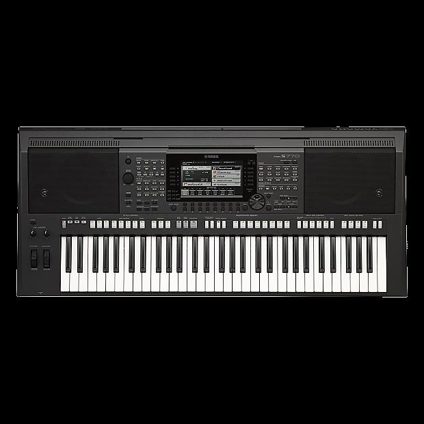 Yamaha psr s770 61 key arranger workstation w built in for Yamaha psr s770 review