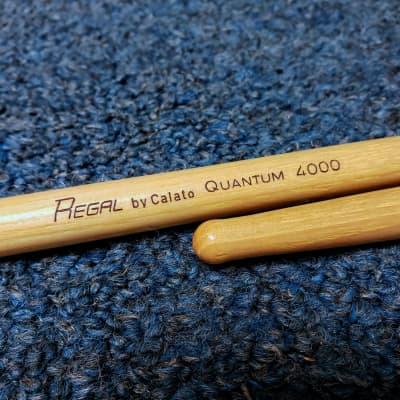 NOS Regal Tip Drum Stick Pair by Calato - Quantum 4000 - Wood Tip