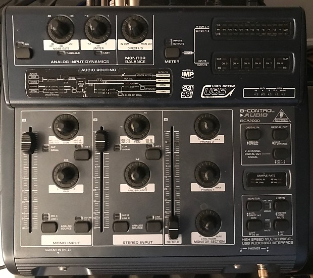 B-CONTROL AUDIO BCA2000 DRIVER FREE