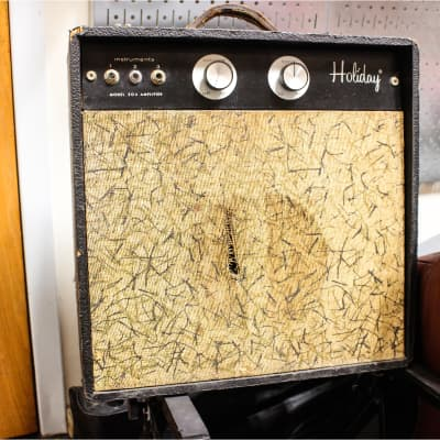 Vintage  Holiday Low Watt Small Tube Guitar Amp w/  Jensen Speaker for sale