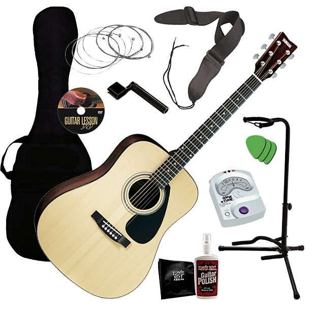 yamaha gigmaker deluxe acoustic guitar starter pack guitar reverb. Black Bedroom Furniture Sets. Home Design Ideas
