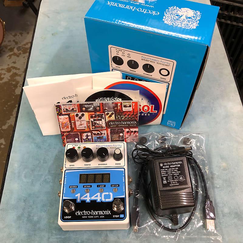 Electro-Harmonix EHX 1440 Stereo Looper Pedal w/ Box & Power Supply