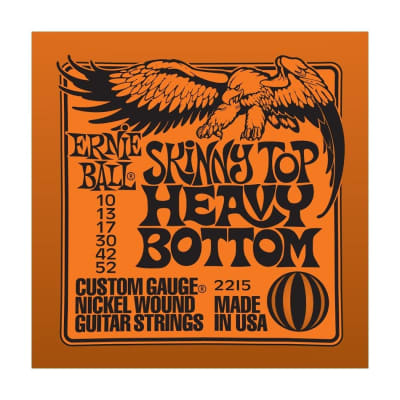 ERNIE BALL Skinny Top Heavy Bottom Nickel Wound Electric Guitar Strings (2215) Single Pack
