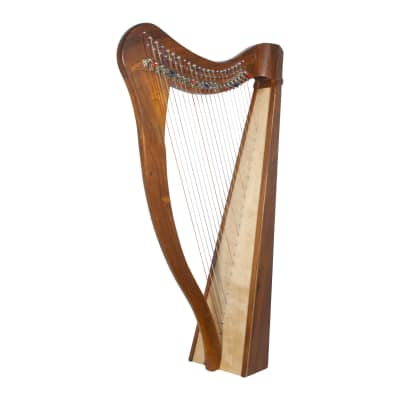 Roosebeck Heather Harp 22-String, Sheesham 5-Panel,  Chelby Levers