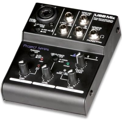 ART USBMIX Mixer and USB Audio Interface