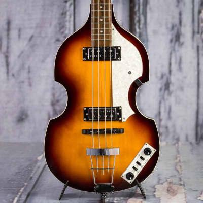 Used 2017 Hofner B-Bass Hi-Series Violin Bass, Vintage Sunburst for sale