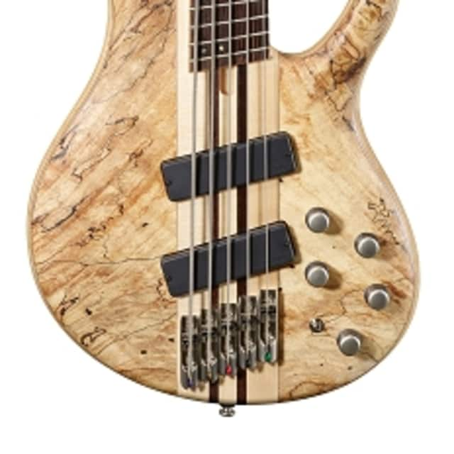 Cort Artisan Series A5PLUS 5-String Multi Scale Bass, Open Pore Natural Finish image
