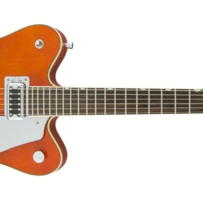 Gretsch G5422T Electromatic Hollow Body Double-Cut with Bigsby, Orange Stain