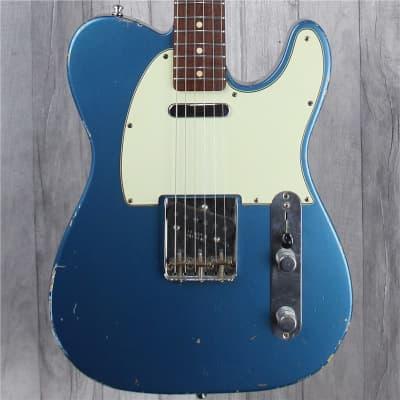 Fender Custom Shop '63 Telecaster Relic, Lake Placid Blue, Second-Hand for sale