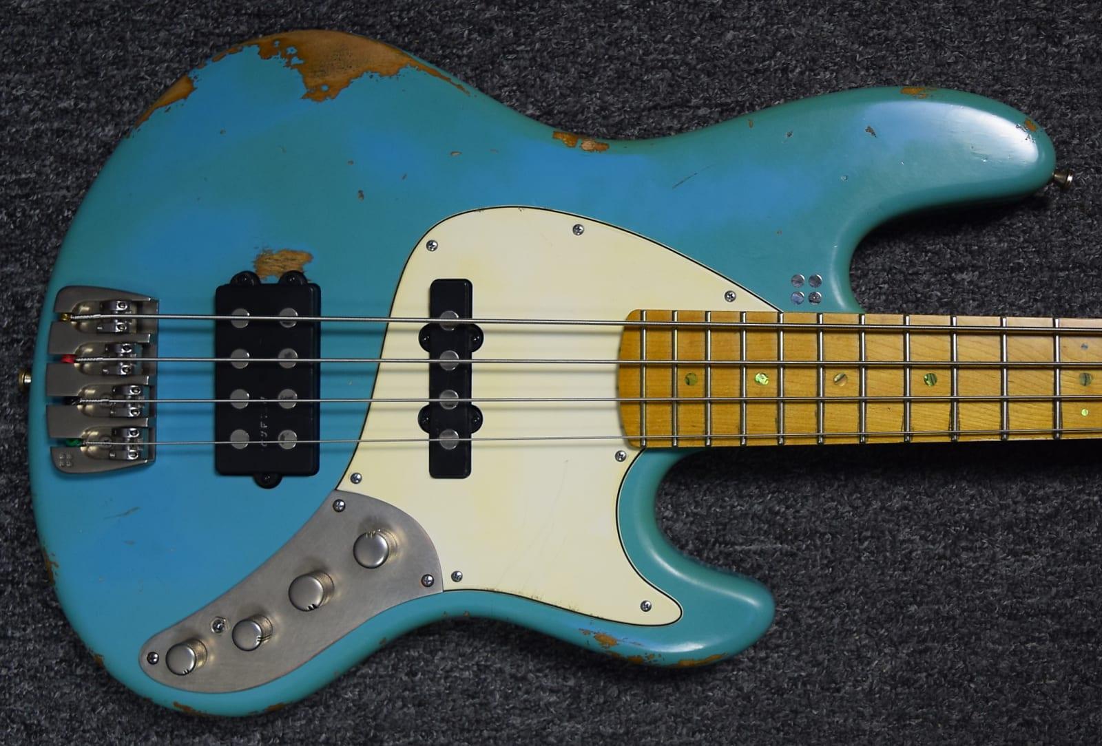 Sandberg California TM4 Roquefort Blue / Maple, Hardcore-Aged *On Order ETA Dec. 2020