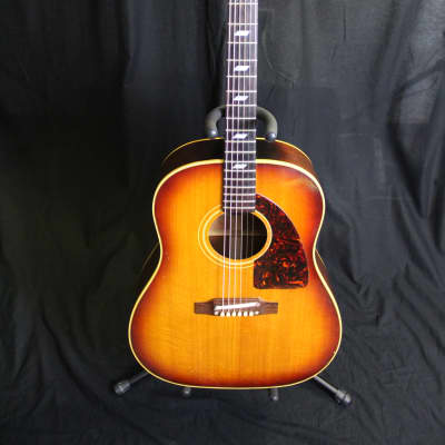 Epiphone 1965 Texan FT-79 Sunburst Acoustic Guitar Made in Kalamazoo, MI USA