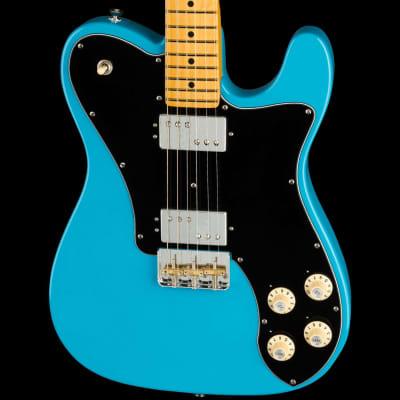 Fender American Professional II Telecaster® Deluxe Maple Board Miami Blue