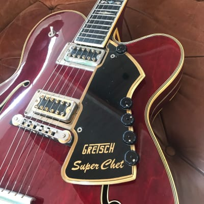 Gretsch Super Chet 1973 USA Autumn Red Early Version