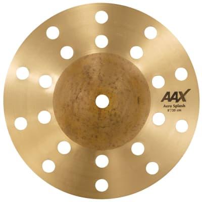 """Sabian 8"""" AAX Aero Splash Cymbal"""