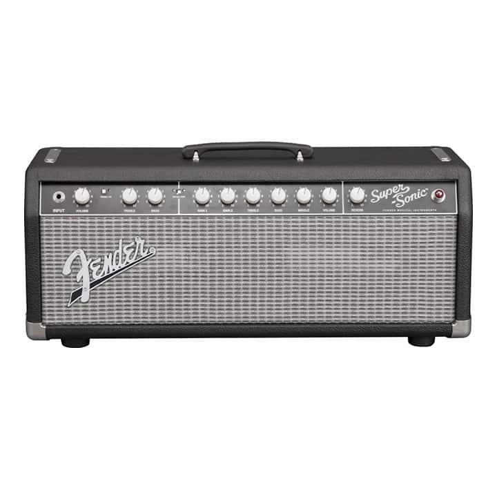 fender super sonic 22 hd guitar amp head black reverb. Black Bedroom Furniture Sets. Home Design Ideas