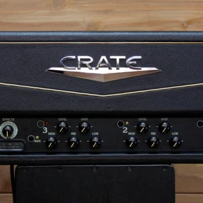 Crate VTX Series VTX200SH 2 x 100W Stereo Guitar Amp Head LAST ONE for sale