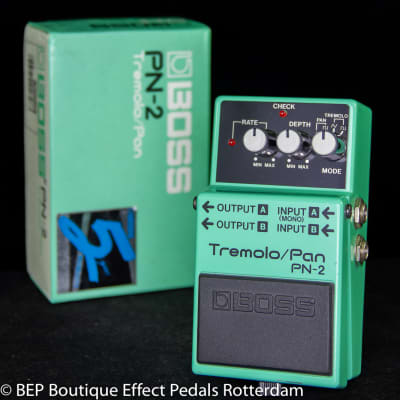 Boss PN-2 Tremolo/Pan 1990 s/n AC16268, as used by Andy Bell ( Ride 1996 )