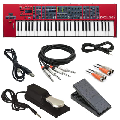 Nord Wave 2 61-Key Performance Synthesizer - Cable Kit [Pre-Order]