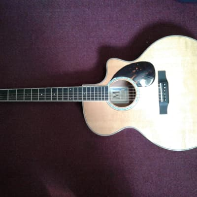 Morgan  JM Cutaway  Spruce Top, Mahogany B/S, Ebony Fretboard for sale