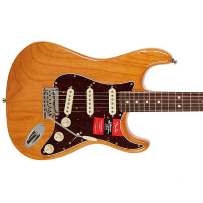 Fender Limited Edition Light Ash American Professional Stratocaster Aged Natural / Rosewood for sale