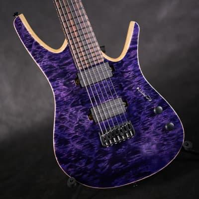 Blackat HD7 2019 Purple 7-String for sale