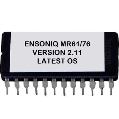 Ensoniq MR-61 / MR-76 - Version 2.11 Firmware OS Update Upgrade Eprom MR61 MR76