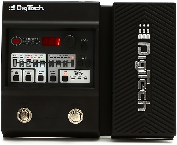 digitech element xp multi fx pedal with expression pedal reverb. Black Bedroom Furniture Sets. Home Design Ideas