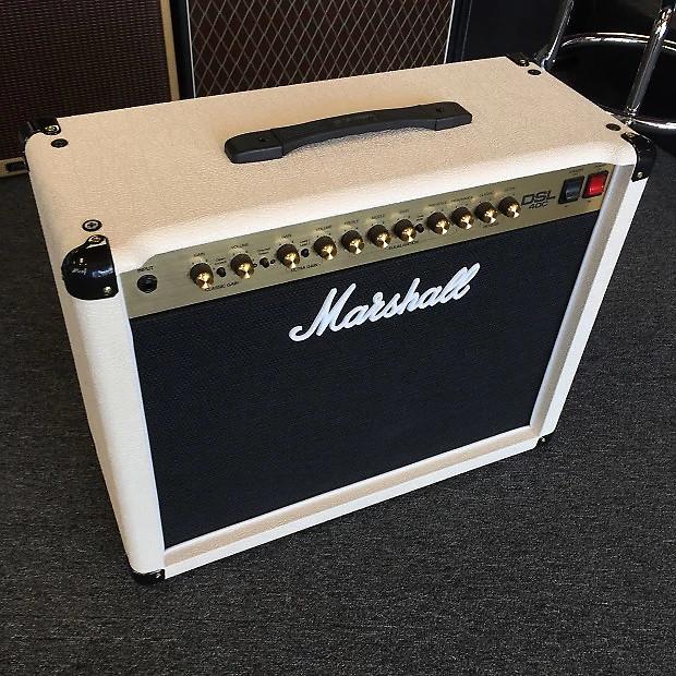 Marshall DSL40C DSL40CC 1x12 40-Watt Cream Tolex Guitar Combo Amplifier