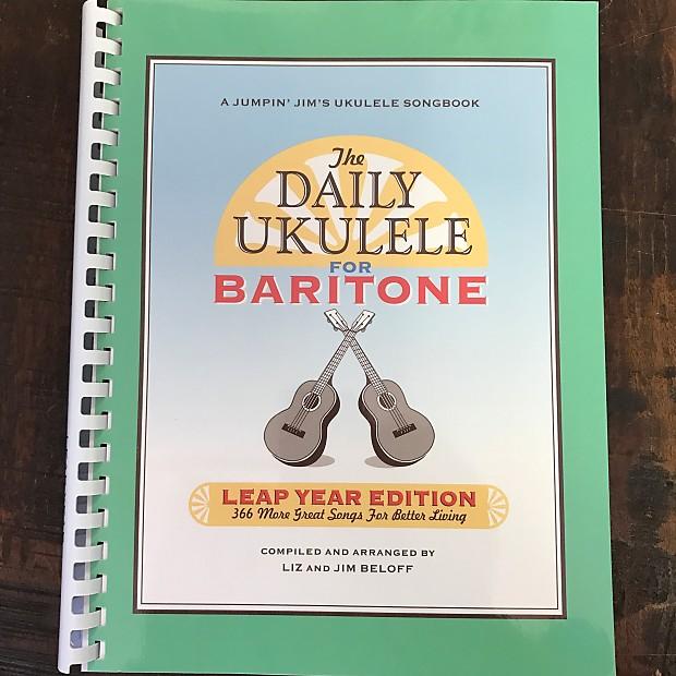 Hal Leonard The Daily Ukulele For Baritone Leap Year Reverb