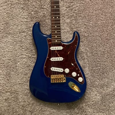 Fender Deluxe Player's Stratocaster Sapphire Blue Transparent W/ Rosewood - INCREDIBLE CONDITION!!! for sale